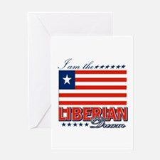 I am the Liberian Dream Greeting Card