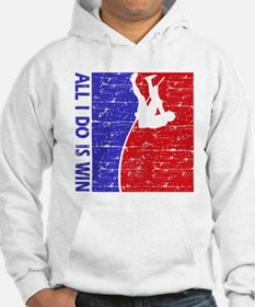 All I do is win Pole Vault designs Hoodie