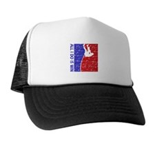 All I do is win Pole Vault designs Trucker Hat