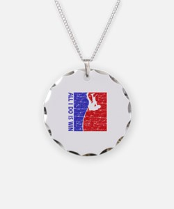 All I do is win Pole Vault designs Necklace