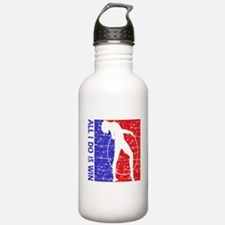All I do is win Gymnastics designs Water Bottle