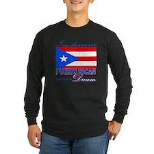 I am the Puerto Rican Dream T