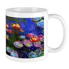 Monet - Water Lilies 1916 Small Mugs