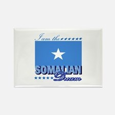 I am the Somalian Dream Rectangle Magnet