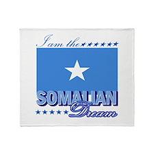 I am the Somalian Dream Throw Blanket