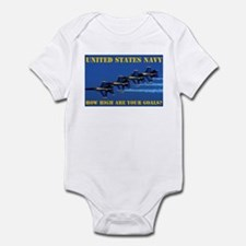 U.S. NAVY Infant Creeper