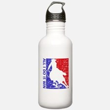 All I do is win Speed Skate designs Water Bottle