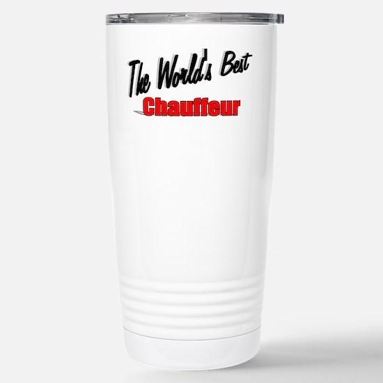 """The World's Best Chauffeur"" Mugs"