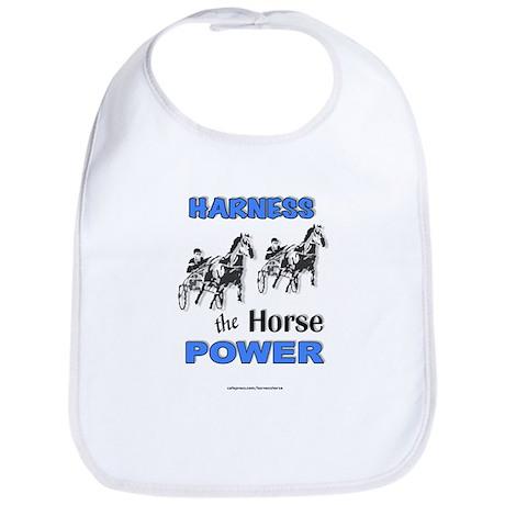 Horse Power - Blue Bib
