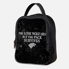 GOT Lone Wolf Dies Neoprene Lunch Bag