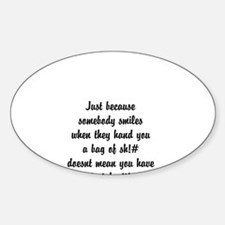 smiles Decal