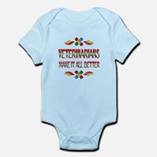 Veterinarians Infant Bodysuit