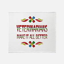 Veterinarians Throw Blanket