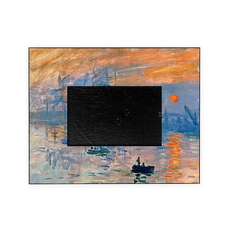 Monet - Sunrise Picture Frame
