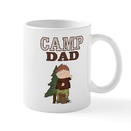 Camp Dad Coffee Cup (Boy with Squirrel)