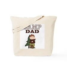 Camp Dad Tote Bag (Boy with Squirrel)
