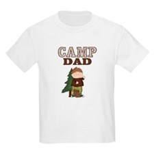 Camp Dad Kids Shirt (Boy with Squirrel)