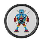 Giant Mecha Robot Large Wall Clock