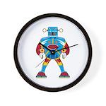 Giant Mecha Robot Wall Clock