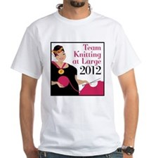 Team Knitting at Large 2012 - Ravelympics Shirt