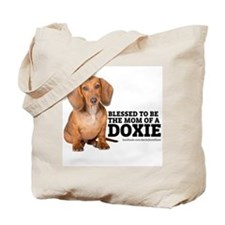 Doxie Mom Tote Bag