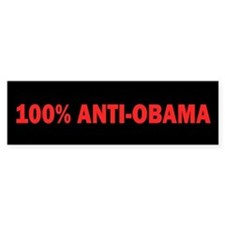 100% Anti-Obama Bumper Stickers