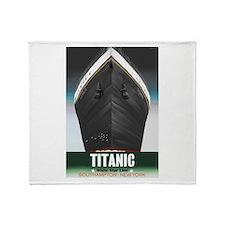 Titanic Centennial Throw Blanket