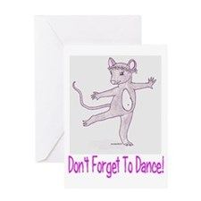 Greeting Card, Don't Forget To Dance,