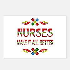 Nurses Postcards (Package of 8)