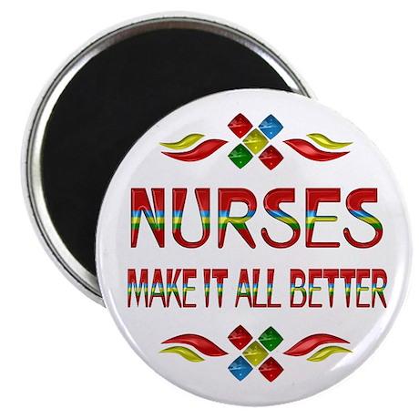 "Nurses 2.25"" Magnet (100 pack)"