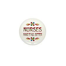 Nurses Mini Button (10 pack)
