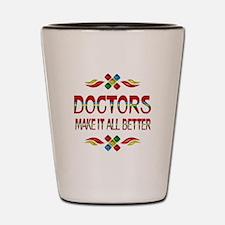 Doctors Shot Glass