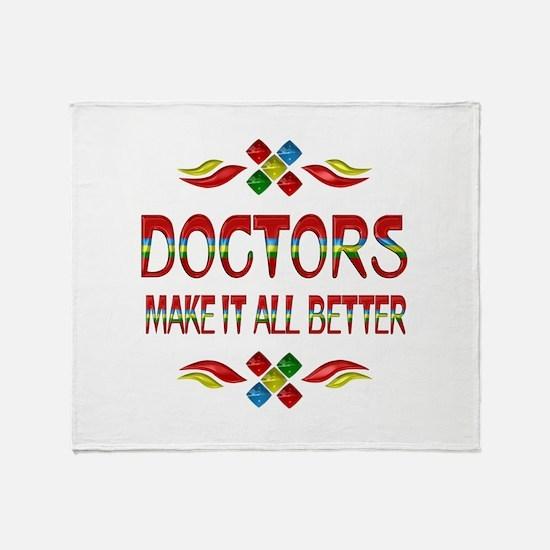 Doctors Throw Blanket