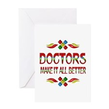 Doctors Greeting Card