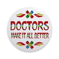 Doctors Ornament (Round)