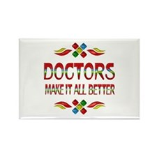 Doctors Rectangle Magnet