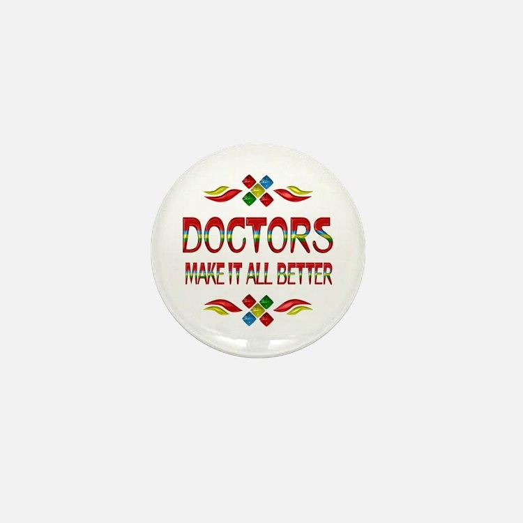 Doctors Mini Button
