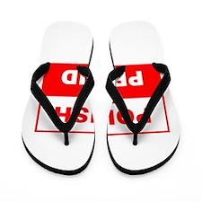 Polish and Proud Flip Flops