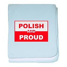 Polish and Proud baby blanket