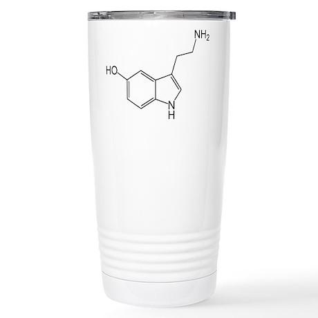 Serotonin Stainless Steel Travel Mug