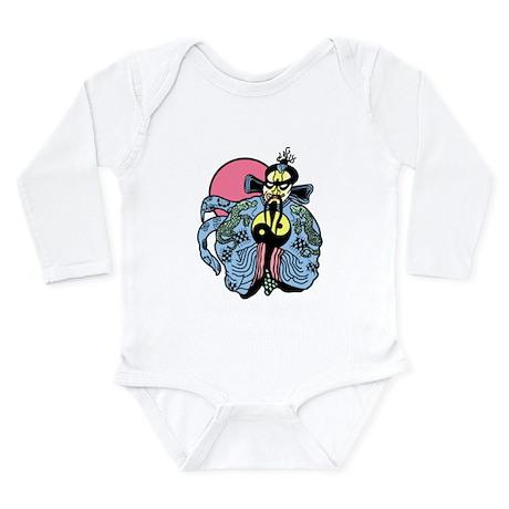 Little China Long Sleeve Infant Bodysuit