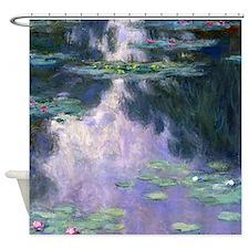 Monet - Nympheas 1907 Shower Curtain