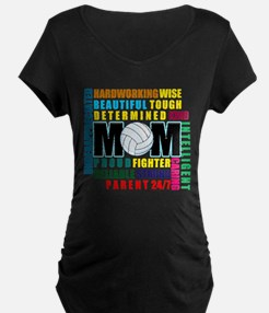What is a Volleyball Mom.png T-Shirt