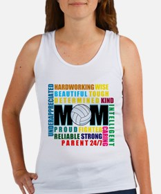 What is a Volleyball Mom.png Women's Tank Top