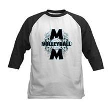 Volleyball Mom (cross).png Tee