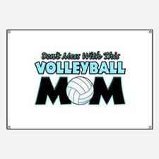 Volleyball Mom Banner