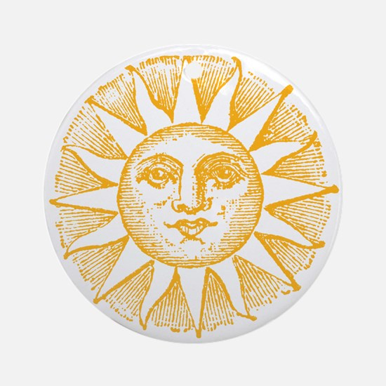Sunny Day Ornament (Round)