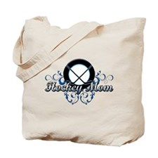 Hockey Mom (puck).png Tote Bag