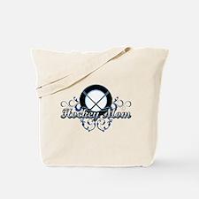 Hockey Mom (puck).png Tote Bag