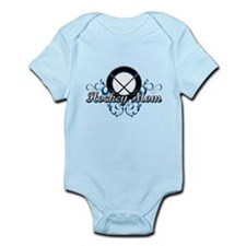 Hockey Mom (puck).png Infant Bodysuit